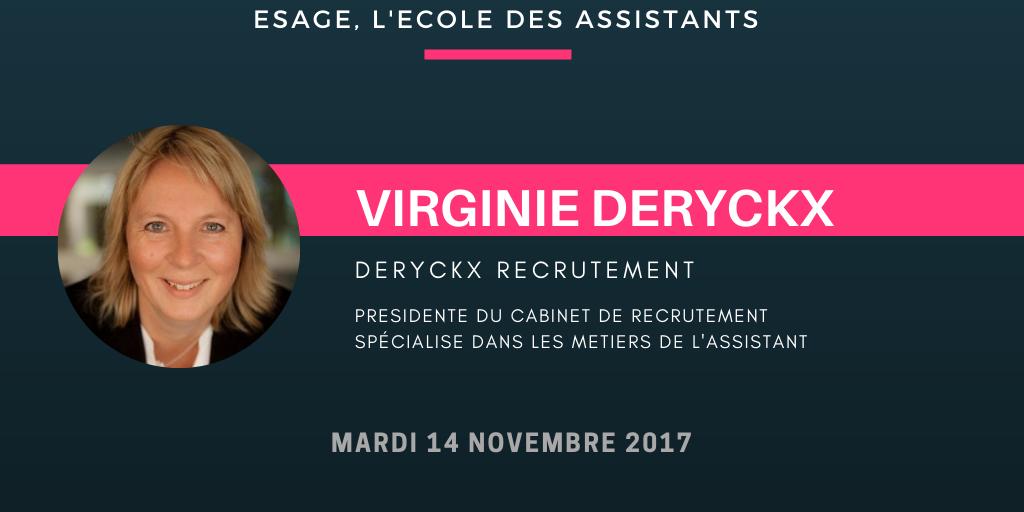 MasterClass Virginie DERYCKX