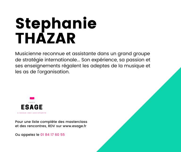 esage - stephanie thazar