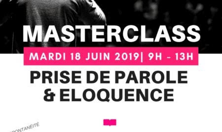 MasterClass pour la prise de parole en public et l'éloquence